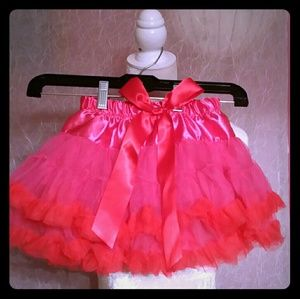 Other - Girls Pink Frilly Skirt *like new*